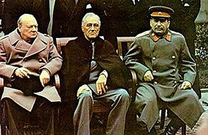 A tight crop of Image:Yalta summit 1945 with C...