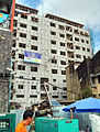 YangonDowntownConstructionsWithScaffoldings2013.jpg