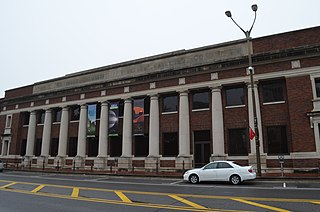 Baton Rouge station historic building and art museum in Baton Rouge, Louisiana
