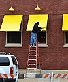Yellow Awning, Strand District Alley, Galveston, Texas 1301071217.jpg