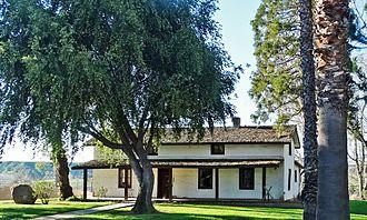 Yucaipa, California - The Yucaipa Adobe in 2015.
