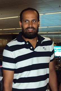Yusuf Pathan Indian cricketer