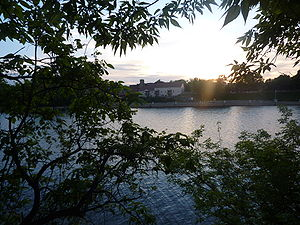 Mechanicville, New York -  The Hudson River in Mechanicville viewed from Hemstreet Park.