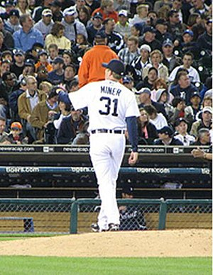 Zach Miner - Miner with the Detroit Tigers
