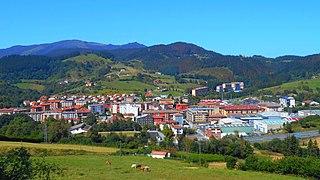 Zaldibar Municipality in Basque Country, Spain