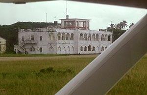 Abeid Amani Karume International Airport - Old Terminal Building