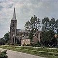 Zicht op de westgevel met de kerktoren - Schalkwijk - 20384511 - RCE.jpg