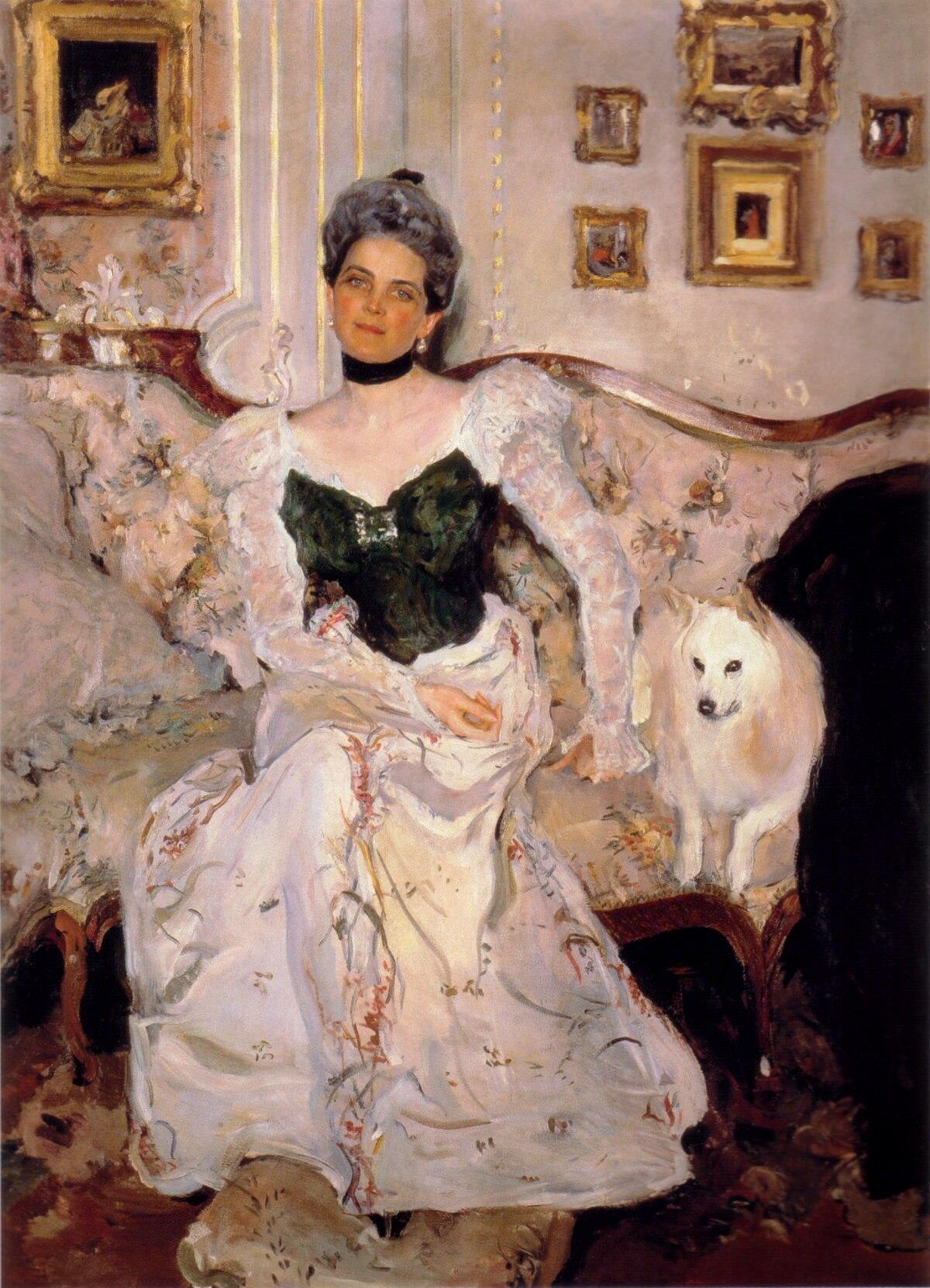 Файл:Zinaida Yusupova by V.Serov (1900-1902, GRM).jpg — Википедия