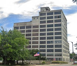 Amerock - Longtime Amerock headquarters in Rockford, Illinois