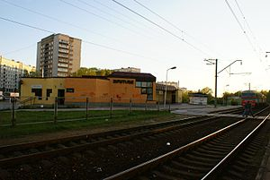 Zolitūde - Zolitūde train station.