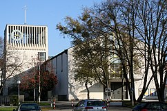 Iglesia parroquial católica de los Santos Doce Apóstoles de Munich-Laim (1953-1954)