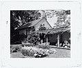 """Chatham,"" Colonel Daniel Bradford Devore house, 120 Chatham Lane, Fredericksburg, Stafford County, Virginia. Porch and reflecting pool LCCN2008679205.jpg"
