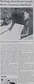 """""""Pat Kemp, Pearl Harbor Casualty Receives Treatment at Oak Knoll"""" article on """"Page 4"""" of issue """"8 February 1947"""" detail, from- The Oak Leaf Vol. 6 (January 11 - June 28, 1947) (IA TheOakLeaf1947January11June28) (page 20 crop).jpg"""