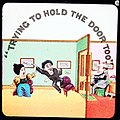 """""""Trying to hold the door too!"""" (7447496806).jpg"""