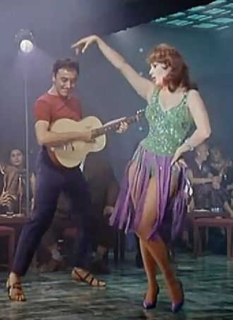 "Sophia Loren - Sophia Loren in It Started in Naples (1959), in which she sang ""Tu Vuò Fà L'Americano"""