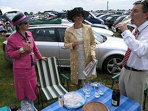 English: 'Ladies Day', Royal Ascot Photo taken...