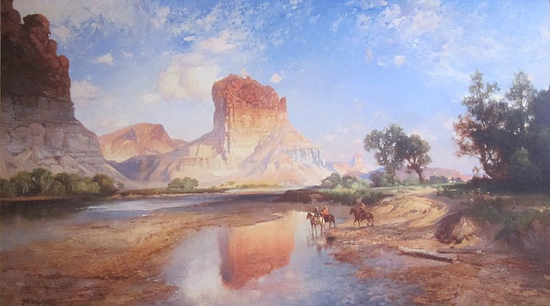 File:'O'Neil Butte, Grand canyon' - Thomas Moran.JPG