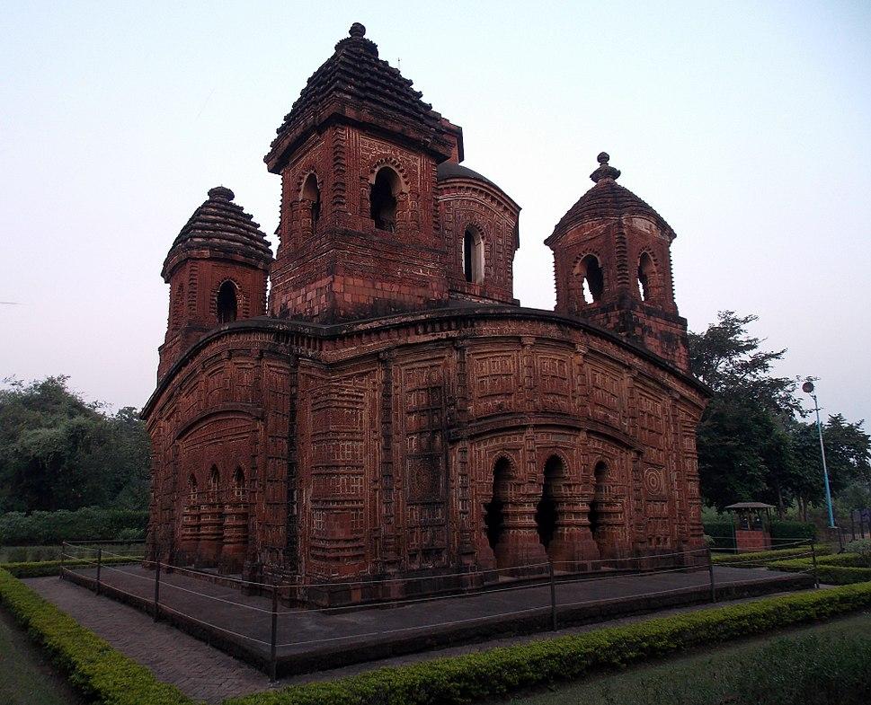 %27Panchchura%27 temple, Bishnupur