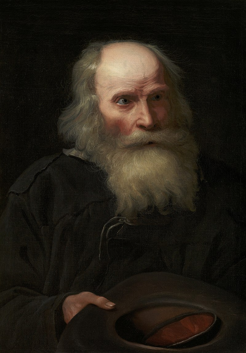 'Portrait of an Old Man Begging' by Michael Sweerts.jpg