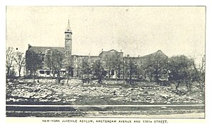 Children's Village (New York) - Amsterdam Avenue and 176th Street, Ca 1890