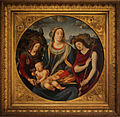 ( C ) Piero di Cosimo - Madonna and Child, with John the Baptist and Saint Magdalena (1485) (7687670470).jpg