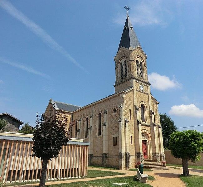 Église Sainte-Euphémie de Sainte-Euphémie.