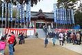 Ōmiya Hachiman Shrine (Miki) New Year's visit to a Shinto shrine in 2014 No,9.JPG
