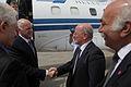 Επίσημη Επίσκεψη στο Ισραήλ - Άφιξη στο αεροδρόμιο Ben Gurion, υποδοχή απο τον Υπουργό Yossi Peled (4820490105).jpg