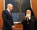 Συνάντηση με τον Οικουμενικό Πατριάρχη κ.κ. Βαρθολομαίο (5877100008).jpg
