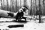 А.Н. Ефимов у своего Ил-2.jpg
