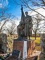 Братська могила радянських воїнів Грузьке Пам'ятник.jpg