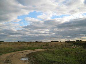 Gavrilovo-Posadsky District - Landscape in Gavrilo-Posadsky District