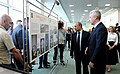 Владимир Путин посетил ВДНХ 2015 - 04.jpg