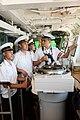 Військовослужбовці ВМС ЗС України під час навчань на кораблі (27097708392).jpg