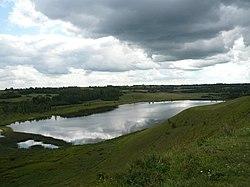 Городищенское озеро. Вид с Труворова городища.jpg