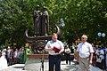 Лукашёв на открытии монумента святым Петру и Февронии, Симферополь.jpg