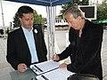 МК избори 2011 01.06. Охрид - караван Запад (5787483263).jpg