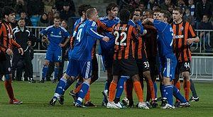 Klasychne derby - Image: Матч Динамо Шахтар