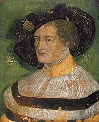 Никлаус Мануэль Дойч. Автопортет (1520, Базель).jpg