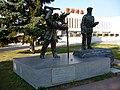 Памятник в центре Железногорска, основателям города и МГОКа. (2019г.).jpg