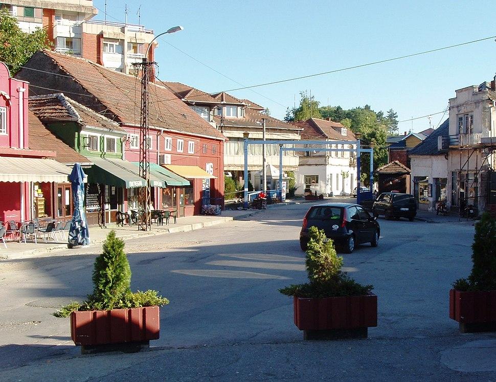 Стара чаршија у Ражњу -Old centre of Ražanj
