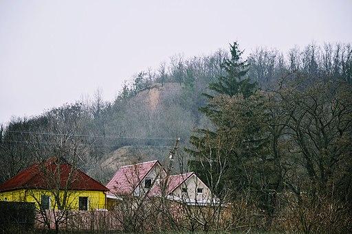 С.Халеп'я, вид на давньоруське городище Халеп 5
