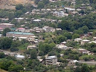 Lernadzor Place in Syunik, Armenia