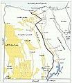 خريطة توضح ممر التعمير و الكثبان الرملية في مصر.jpg