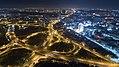 夜間的楠梓陸橋與楠陽高架橋空拍實景.jpg