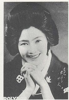 Shinbashi Kiyozo Japanese actress