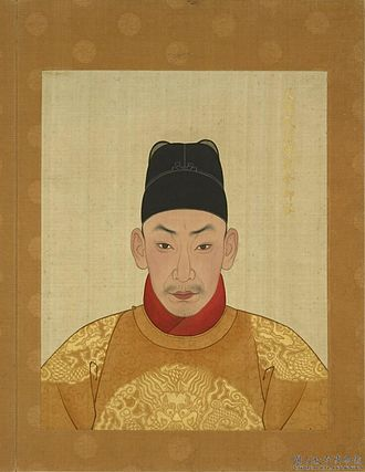Zhengde Emperor - Image: 明武宗画像