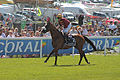 029 Epsom Derby 2015 - Elm Park and Andrea Atzeni going to post (18584671922).jpg