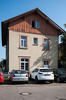 Bahnhofstraße in Sachsenheim