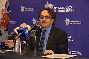 Gabriel Quadri de la Torre - Gabriel Quadri at press conference during 2012 World Economic Forum
